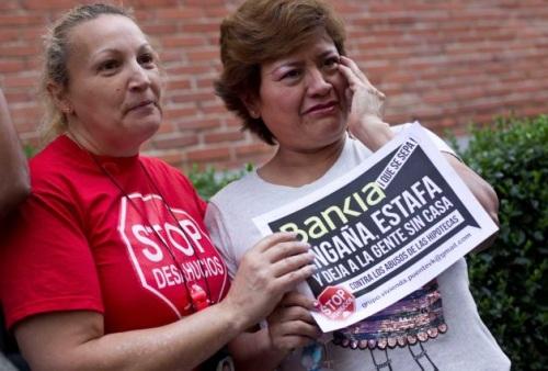 Stop Desahucios Luz María Reyes Coral