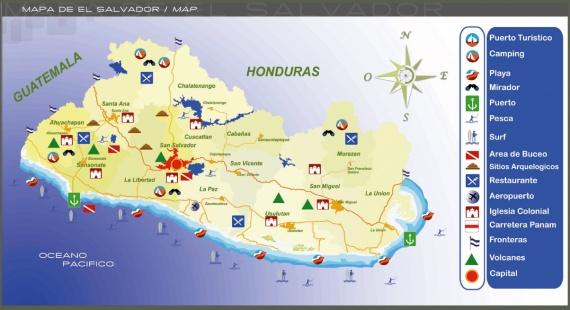 Visa para El Salvador Turismo Salvador