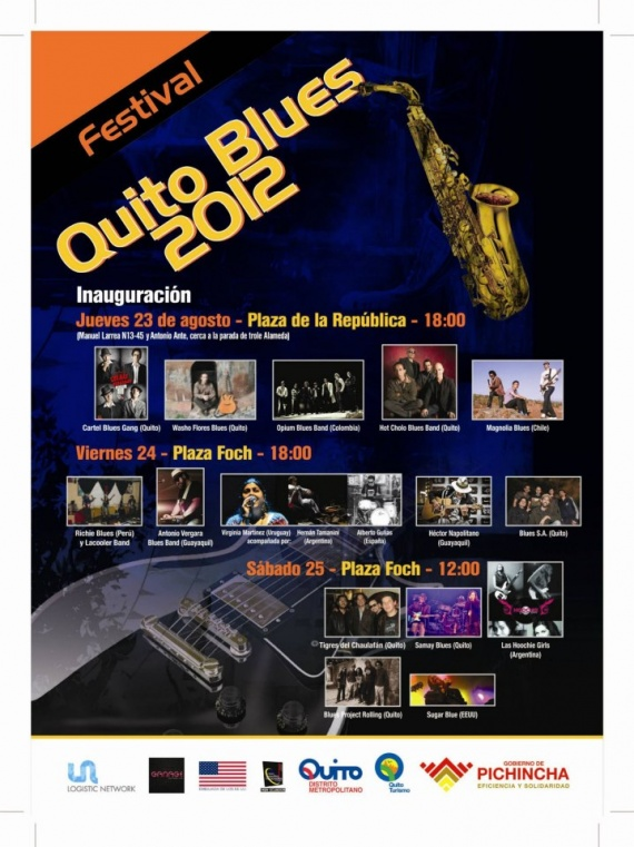 Festival Quito Blues 2012
