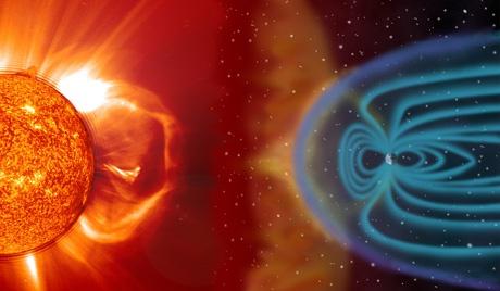 Tormenta Magnética - Fuente: Flickr NASA