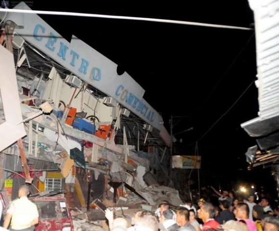 Consecuencias sismo Ecuador - Pedernales